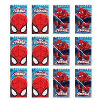 Spider-Man Notepads 12ct