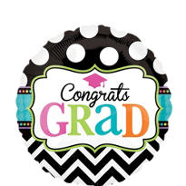 Foil Dream Big Graduation Balloon