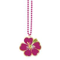 Hibiscus Bead Necklace