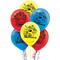 Happy Birthday Power Rangers Megaforce Balloons 6ct