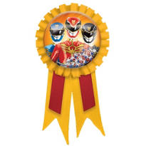 Power Rangers Megaforce Award Ribbon