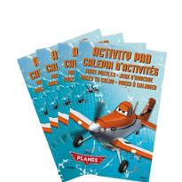 Planes Activity Pads 4ct
