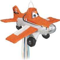 Pull String Planes Pinata