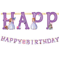 Sofia the First Birthday Banner 10ft