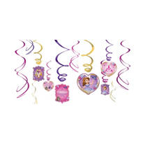 Sofia the First Swirl Decorations 12ct