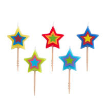 Star Toothpick Candles 5ct