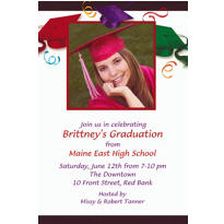 School's Out Custom Photo Invitation
