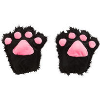 Black Cat Paw Gloves