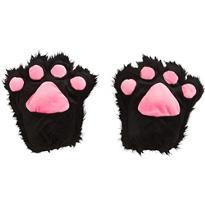 Black Cat Paw Gloves