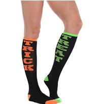 Trick or Treat Knee-High Socks