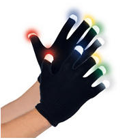 Electric Party Glow Gloves