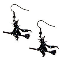 Flying Witch Earrings