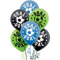 Soccer Balloons 6ct
