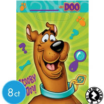 Scooby-Doo Favor Bags 8ct