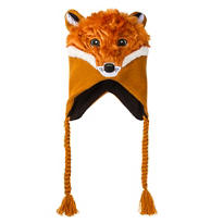Fox Peruvian Hat