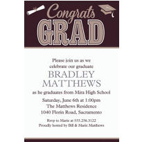 Graduating Class Custom Invitation