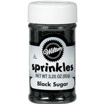 Black Sugar Sprinkles 3.25oz