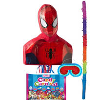 Pull String Spider-Man Pinata Kit