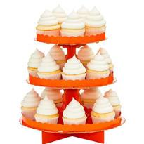 Orange Cupcake Stand
