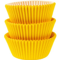Sunshine Yellow Baking Cups 75ct