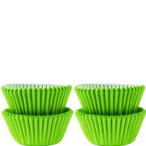Mini Kiwi Green Baking Cups 100ct