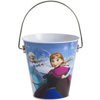 Frozen Metal Pail