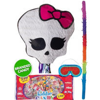 Pull String Skullette Monster High Pinata Kit