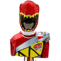 Pull String Red Power Ranger Pinata