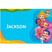 Bubble Guppies Custom Thank You Note