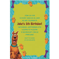 Scooby-Doo Where Are You! Custom Invitation