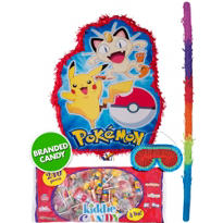 Pull String Pokemon Pinata Kit