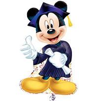 Mickey Mouse Graduation Balloon
