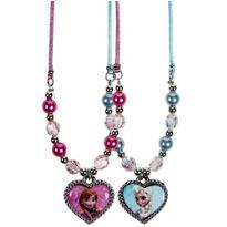 Frozen Heart Pendant Necklaces 2ct
