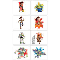 Toy Story Tattoos 1 Sheet