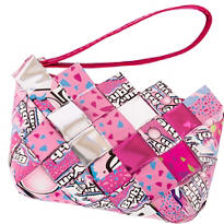 Bubble Yum Candy Wrapper Wristlet