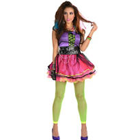 Adult Totally Pop 80s Costume