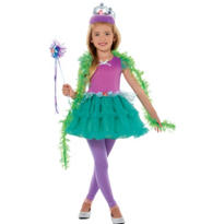 Girls Tutu Ariel Costume