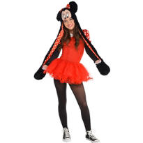 Teen Girls Sassy Minnie Mouse Costume