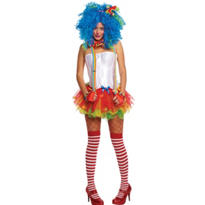 Adult Sassy Clown Costume