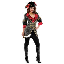 Adult Sassy Pirate Costume