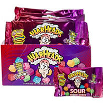 Warheads Sour Chewy Cubes 15ct