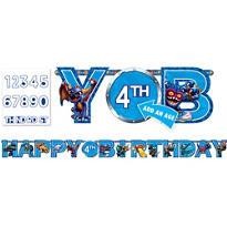 Skylanders Birthday Banner