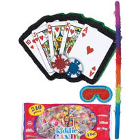 Poker Hand Pinata Kit
