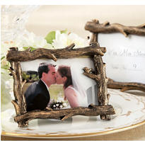 Rustic Tree Branch Photo Frame Place Card Holder