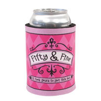 Fifty & Fine Birthday Beverage Coozie