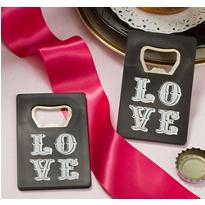 Chalkboard Love Credit Card Bottle Opener