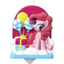 Pinkie Pie Birthday Candle - My Little Pony