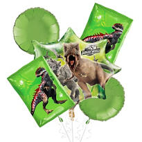 Jurassic World Balloon Bouquet 5pc