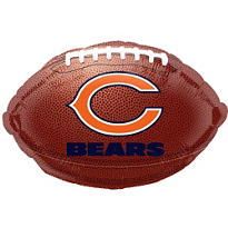 Chicago Bears Foil Balloon 18in