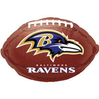 Baltimore Ravens Foil Balloon 18in